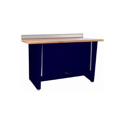 Custom® Series-Stationary, Hardwood Top, 2 Doors-St.Louis Blue
