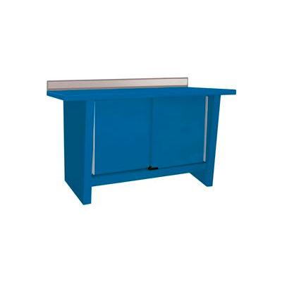 Custom® Series-Stationary, Stainless Steel Top, 2 Doors-Monaco Blue