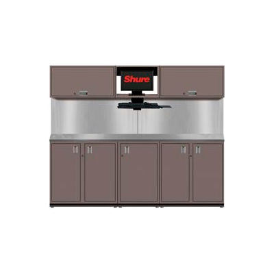 Shuretech STS-S2-8' Bench System-Pewter Grey