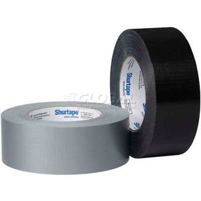 Shurtape, Cloth Duct Tape, Pc 590, Economy Grade, 36mm X 55m, Silver - Pkg Qty 24