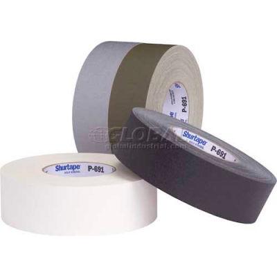 Shurtape, Polyethylene Cloth Tape, P- 691, Premium Grade, 72mm X 55m, White - Pkg Qty 16
