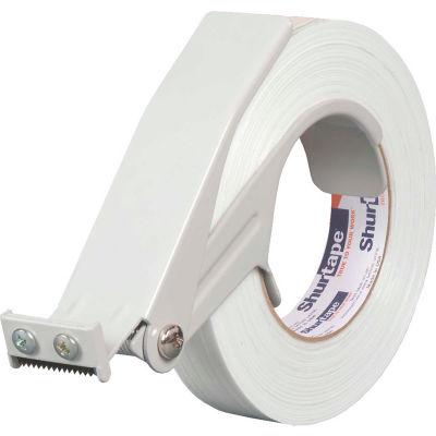 """Shurtape® SD 999 Strapping Tape Dispenser, 1""""W, White"""