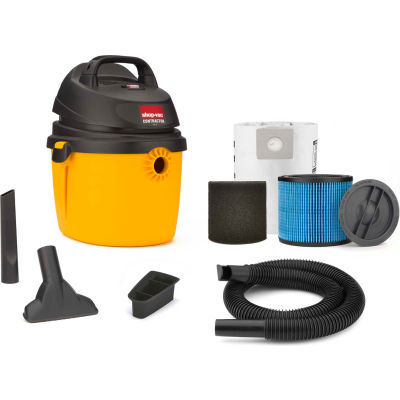 Shop-Vac® 2.5 Gallon 2.5 Peak HP Portable Contractor Wet Dry Vacuum - 5892210