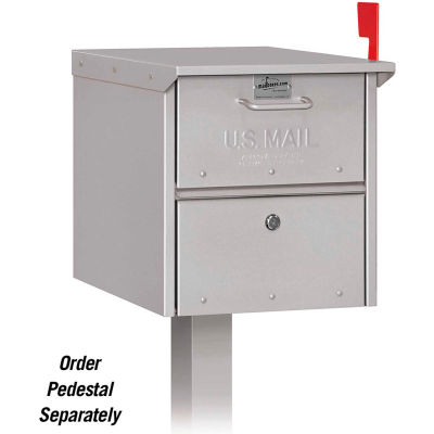 Roadside Mailbox 4325SLV - Silver