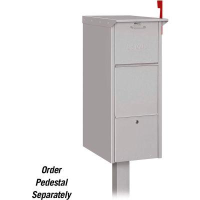 Mail Package Drop Locker 4375SLV - Silver