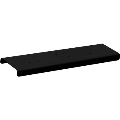 Spreader 4382BLK - 2 Wide, for Roadside Mailbox and Mail Chest, Black