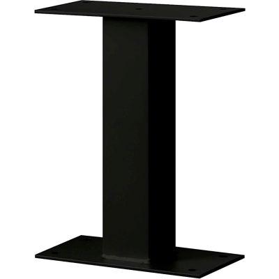 Standard Pedestal 4395BLK - Bolt Mounted, for Mail Package Drop Locker, Black