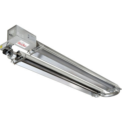 SunStar Natural Gas Infrared Heater Compact U-Tube Vacuum - SIR35-15-N5 - 35000 BTU