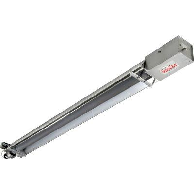 SunStar Natural Gas Infrared Heater Straight Tube Vacuum - SIS50-15-N5 - 50000 BTU