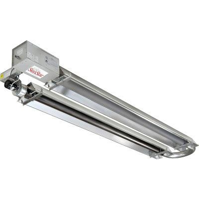 SunStar Natural Gas Infrared Heater U-Tube Vacuum - SIU125-50-N5 - 125000 BTU