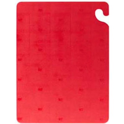 Saf T Grip™ Cutting Board, 6X9X3/8, Red