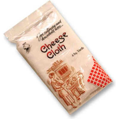 Cheesecloth, Individual Retail Package, 4 Sq. Yards Per Bag,