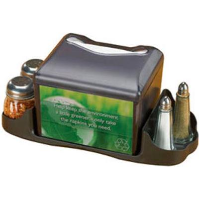 San Jamar H4005CTBK - Venue™ Tabletop Napkin Dispenser W/Caddy, Black