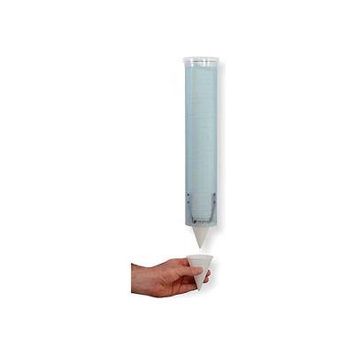 San Jamar C4160TBL - Small Pull-Type Water Cup Dispenser, Arctic Blue - Pkg Qty 12