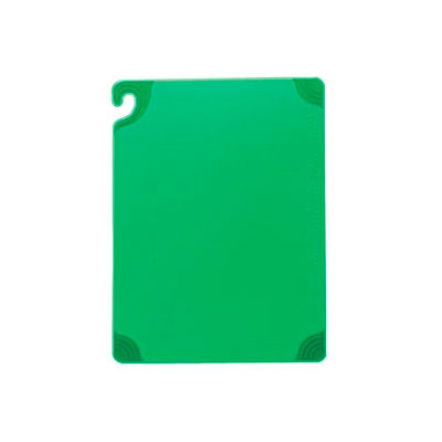 "Saf-T-Grip® Cutting Boards, Green, 12""H x 18""W x 1/2""D"