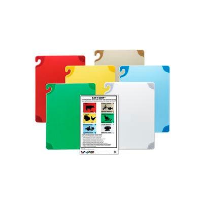 "Saf-T-Grip® Cutting Boards, White, 12""H x 18""W x 1/2""D"