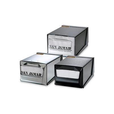 Countertop Napkin Dispensers, 5-1/2 h x 7-5/8 w x 11 d, Black Face & Body