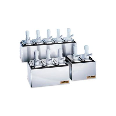 Condiment Pump Service Centers, 2 Well