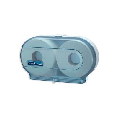 """San Jamar® Classic Twin 9"""" JBT Dispenser - Blue - R4000TBL"""