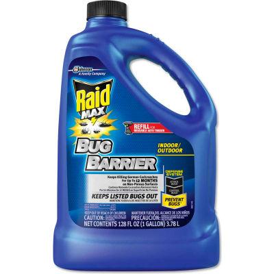 Raid® Max Bug Barrier, 128 oz. Bottle Refill, 4/Carton - 620727