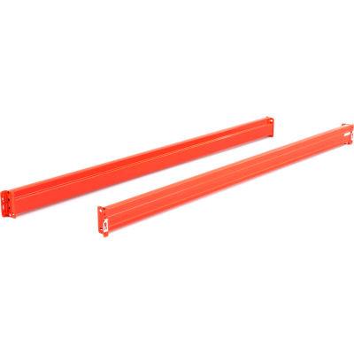 "SK2000® Boltless Pallet Rack - 5-1/2""H x 96""L Step Beam - Pair"