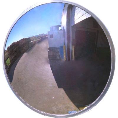 "Se-Kure™ Acrylic Outdoor Convex Mirror, 36"" Diameter"