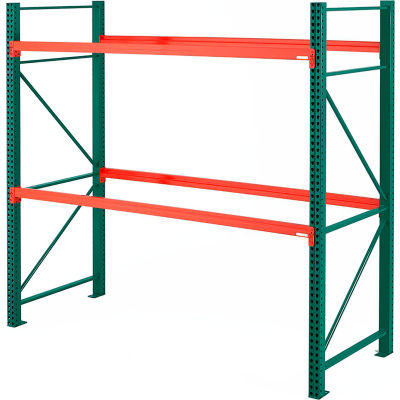 "Steel King® SK2000® Pallet Rack 96""W x 36""D x 96""H Starter Unit"