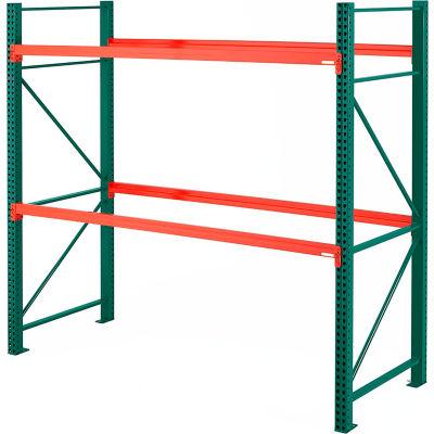 "Steel King® SK2000® Pallet Rack 120""W x 42""D x 120""H Starter Unit"