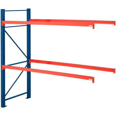 """Steel King® SK2000® Pallet Rack 96""""x42""""x96"""" Add-On Unit - Blue/Orange - 5080 Lbs. Cap."""