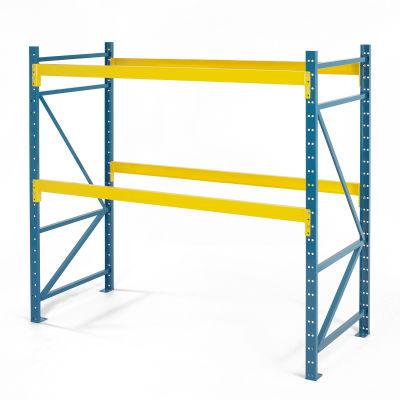 "Steel King® SK3000® Pallet Rack 72""W x 36""D x 96""H, 5960 Lbs. Cap. Per Level, Starter Unit"