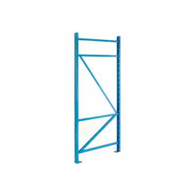 """SK3000® Structural Channel Pallet Rack - 42""""W X 120""""H Upright"""