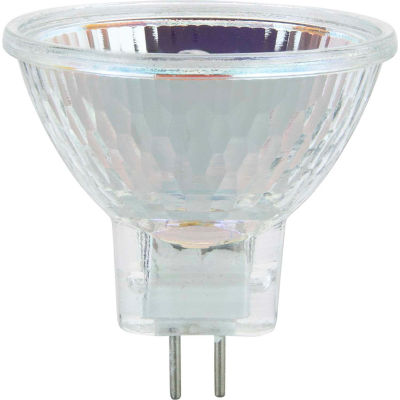Sunlite 03175-SU 20MR11/GU4/NFL/12V 20W MR11 Mini Reflector Halogen Bulb, GU4 Base - Pkg Qty 6