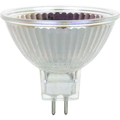Sunlite 03213-SU 35MR16/FL/12V 35W MR16 Mini Reflector Halogen Bulb, GU5.3 Base - Pkg Qty 24