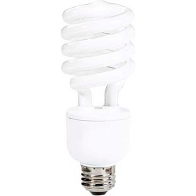 Sunlite® 05479-SU SL23/27K/D 23W Dimmable Spiral CFL Light Bulb, Medium Base, Warm White - Pkg Qty 12