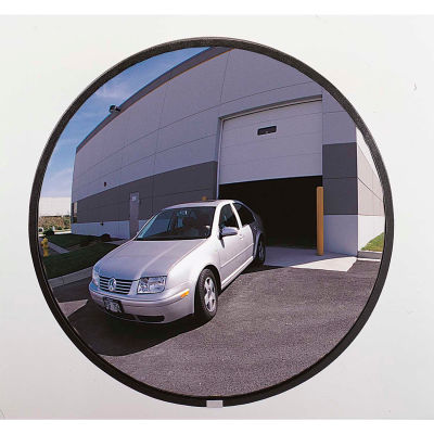 "See All® 160-Degree Glass Convex Mirror - Indoor, 18"" Diameter - N18"
