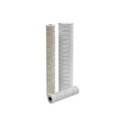 """String Wound Polypropylene Cartridge w/ Poly Core 20"""", 100 micron - Pkg Qty 15"""