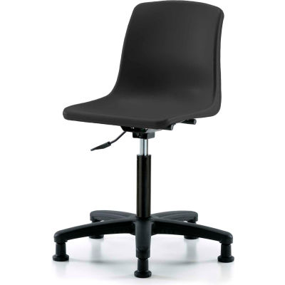 One-Piece Shell Chair - Black