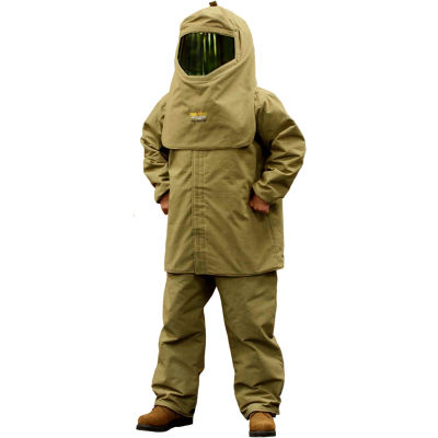 "Stanco Lightweight HRC 4 Arc Clothing Kit (35"" coat, overalls, hood, hard hat, bag), TTK44-L"