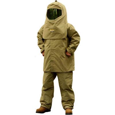 """Stanco Lightweight HRC 4 Arc Clothing Kit (35"""" coat, overalls, hood, hard hat, bag), TTK44-XL"""