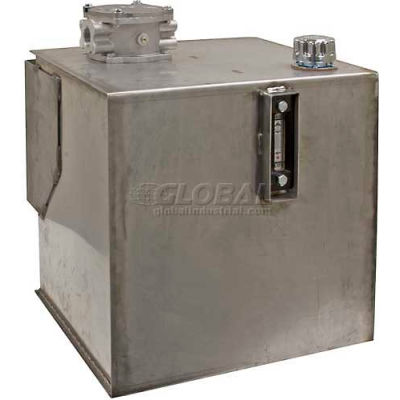 Buyers Hydraulic Reservoir W/Intergral Brackets, SMR30SS25, 30 Gal., S/S, W/25 Micron Filter