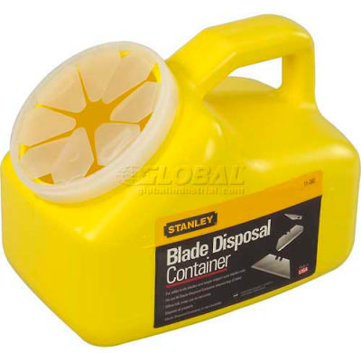 Stanley 11-080 Blade Disposal Container