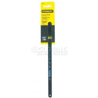 """Stanley 15-922A Carbon Steel 12"""" Hacksaw Blade 32 TPI, 2 Pack"""