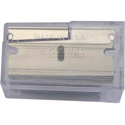 Stanley 28-510 Razor Blades with Dispenser, 10 Pack