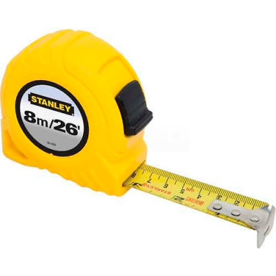 "Stanley 30-456 Tape Rule 1"" x 8M/26'"