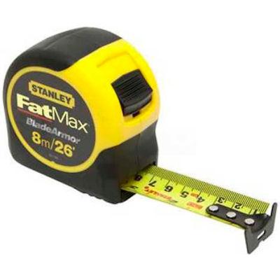Stanley 33-726 FatMax® Tape Rule W/BladeArmor™ Coating, 26'L