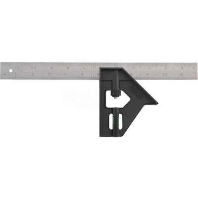 "Stanley 46-012 Plastic Handle Combination Square, 12"""