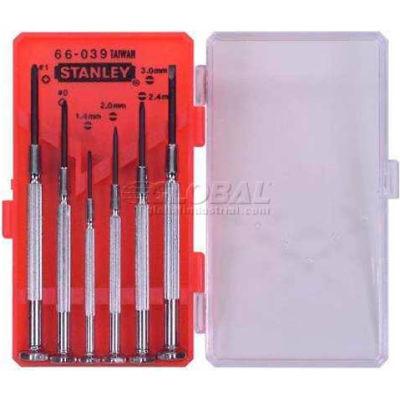 Stanley 66-039 6 Piece Jeweler's Precision Screwdriver Set