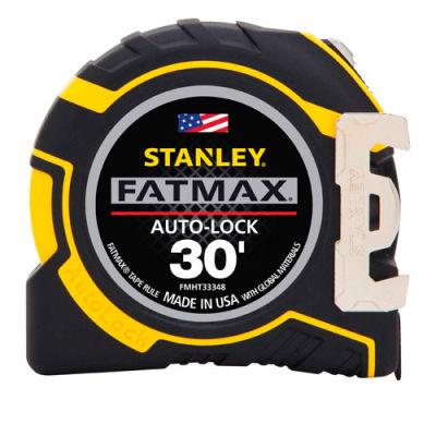 """Stanley®  Fatmax® FMHT33348S Auto-Lock Tape Rule 1-1/4"""" X 30' Tape Measure"""