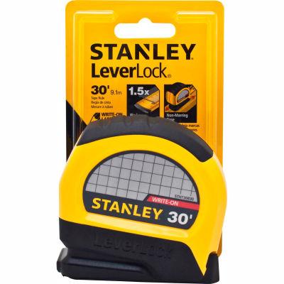"""Stanley®  Leverlock® STHT30830 Tape Rule 1"""" X 30' Tape Measure"""