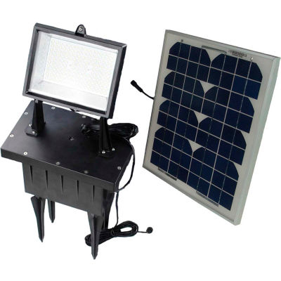 Solar Goes Green SGG-F108-3T - Solar Flood Light w/Remote Control and Timer